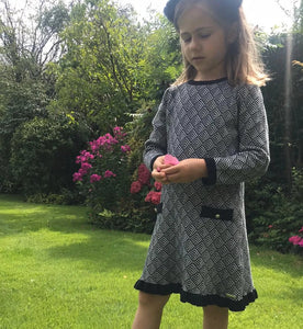 Chanel Ruffle Hem Girls Dress - OTedd