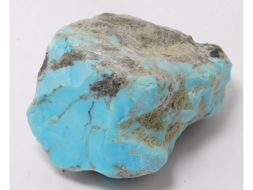 "Kingman Turquoise Lapidary Rough 1.5"" x 1.2"" x 0.98"" - TURQRGH2241"