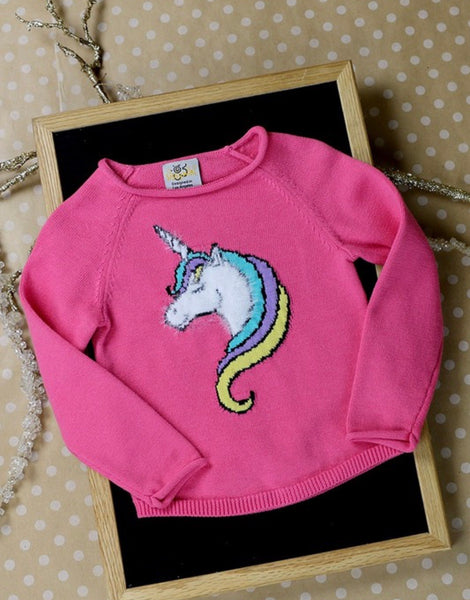 Unicorn Girl Sweater