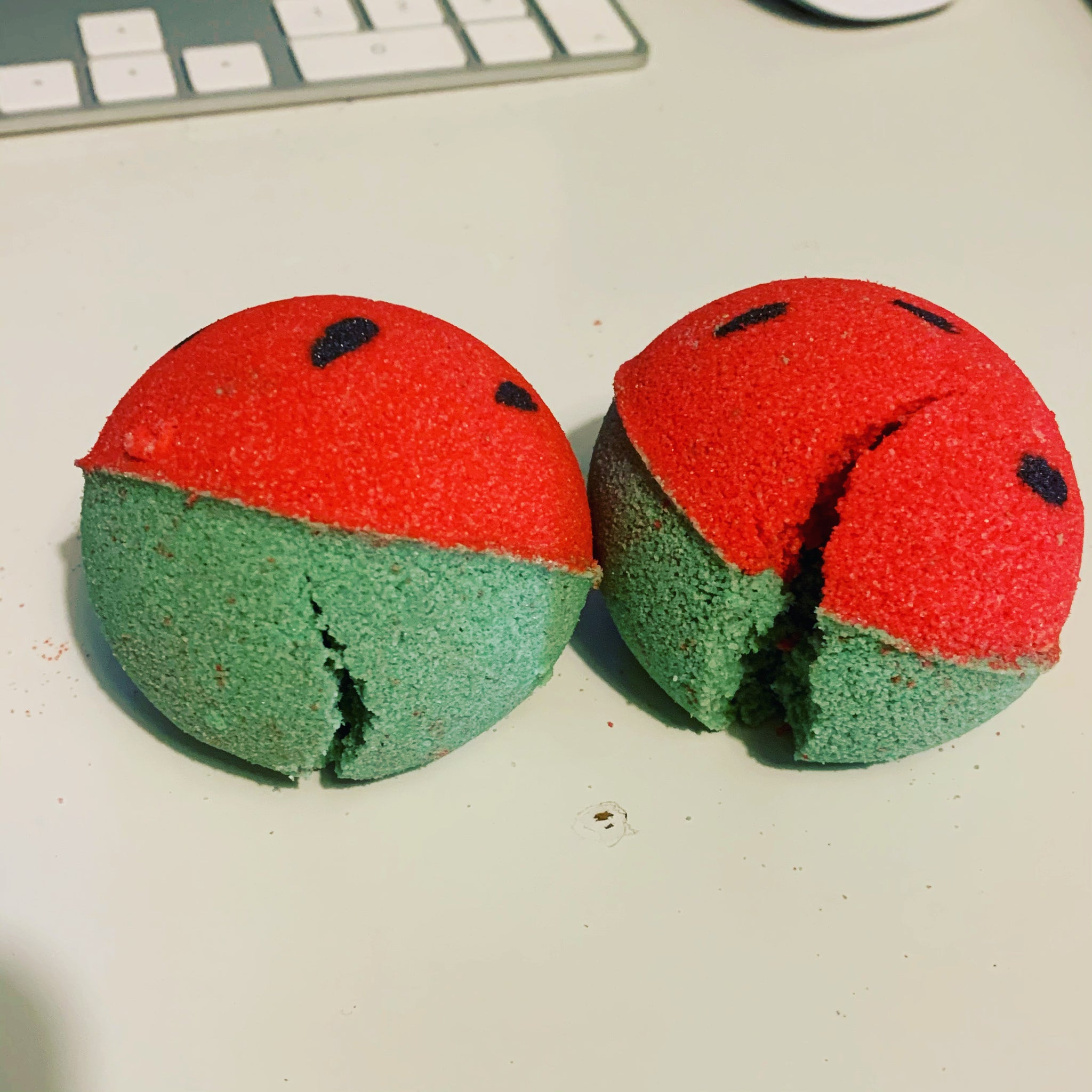 SECONDS Watermelon Bath Bomb