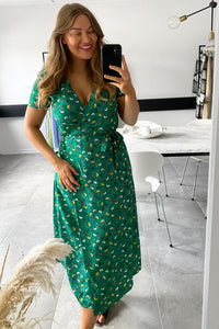 Giulia Dress - Green