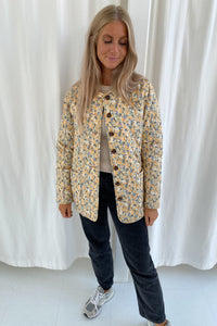 Short Maluca Jacket - Yellow Print