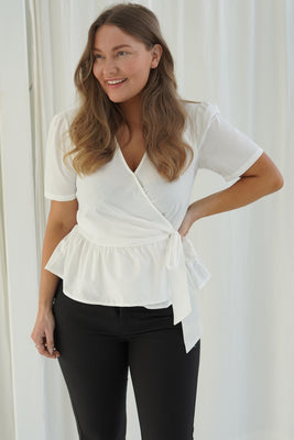 Dicte Top - White