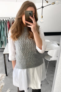 Manda West - Light Grey Mel