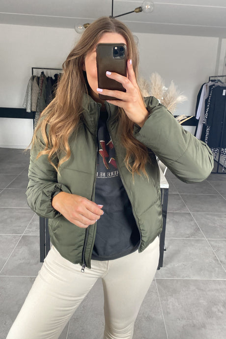 Erica Short Jacket - Green