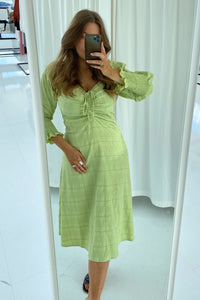 Long Viola Dress - Light Green