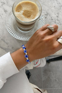 Amina Bracelet - Purple