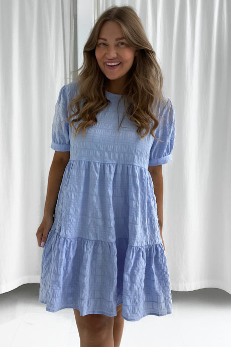 Vilma Dress - Light Blue