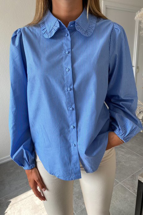 Vura Shirt - Blue Stripe