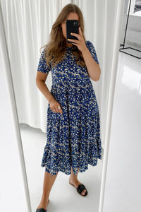Assi SS Midi Dress - Maritime Blue