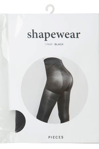 Nylon Tights Shapewear - Black