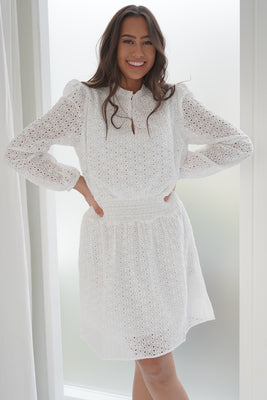 WD 47 Dress - White