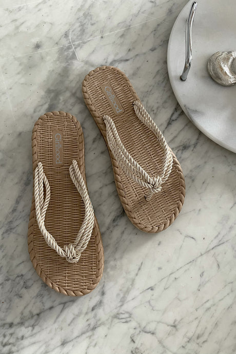 Ally Slippers - Beige
