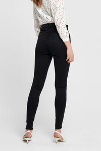 Shape High Waist Jeans - Black