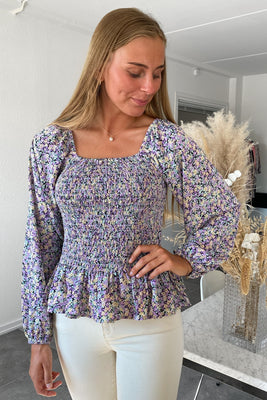 Soffy Smock Top - Lilac