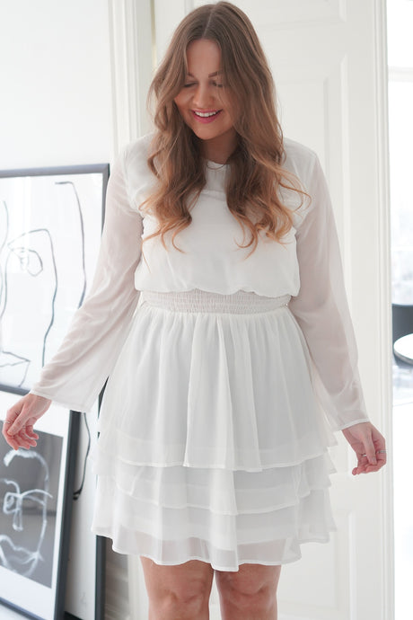 Nicoline Dress - White