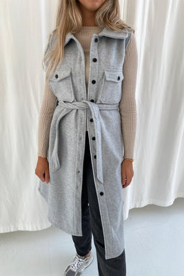 Emmy Vest - Light Grey