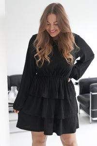 Nynne Dress - Sparkling Black