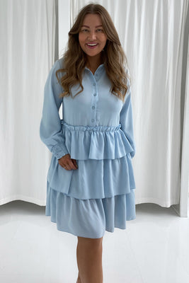 Milana Dress - Light Blue
