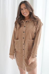 Amazing Long Shirt - Brown