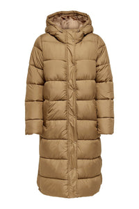 Cammie Long Jacket - Toasted Coconut