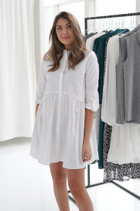 Ditte Shirtdress - White