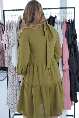 Melle Dress - Green