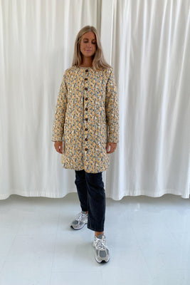 Long Maluca Jacket - Yellow Print
