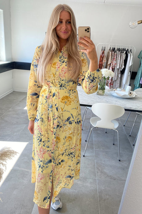 Lexy Dress - Yellow