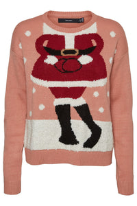 Miss Santa Knit - Rose