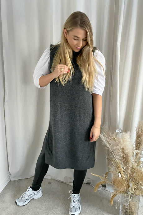 Madeline Vest - Dark Grey