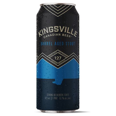 Kingsville Brewery BARREL AGED STOUT