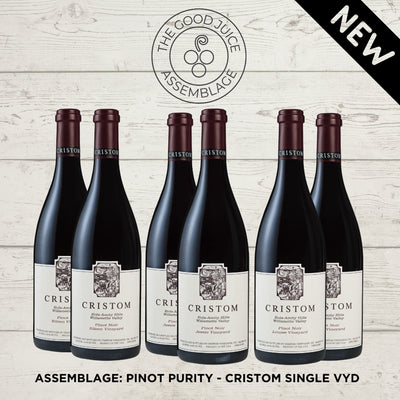 Mixed Case: Assemblage Pinot Purity – Cristom Single Vyd (6pk)