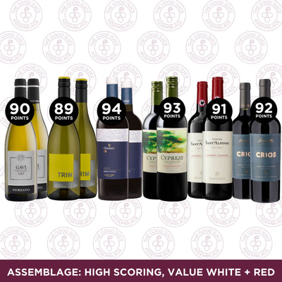 Mixed Case: Assemblage High Scoring, Value White + Red