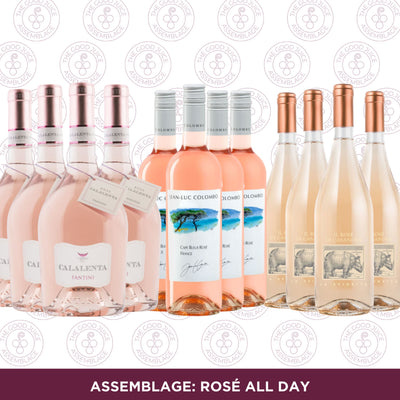 Mixed Case: Assemblage Rosé all Day
