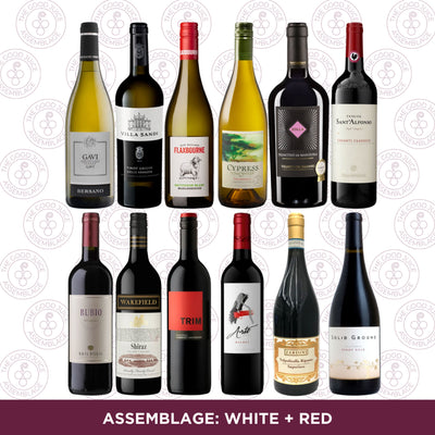 Mixed Case: Assemblage White + Red