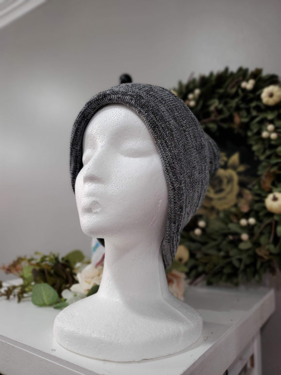 Loose fit Knit Cuff Beanie