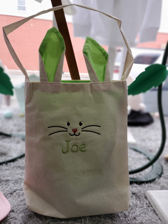Canvas Tote Easter Basket