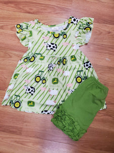 Girls John Deer Set