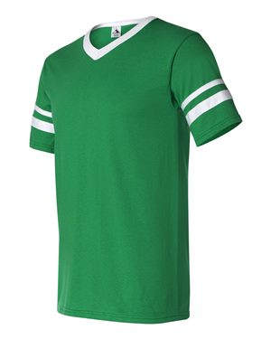 Youth V-Neck Sleeve Stripe Jersey