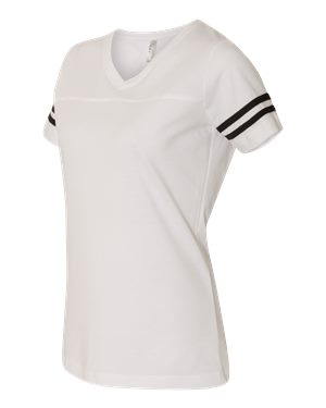 Womens Football V-Neck