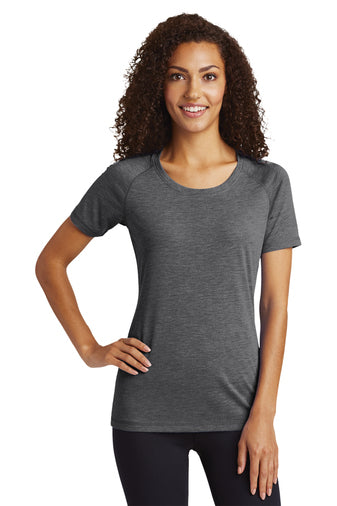 Ladies Wicking Scoop Tee