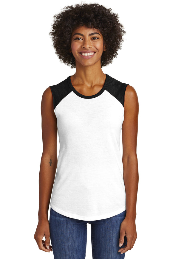 Women's Sleeveless Vintage Tee