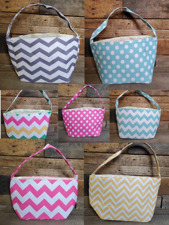Patterned Easter Basket