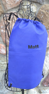Recycled Material Drawstring Bag