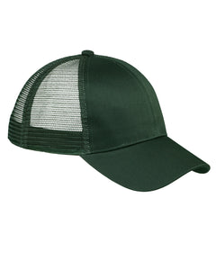 Green 6 Panel Trucker Hat