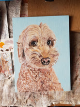 Load image into Gallery viewer, Commission - Pet Portrait On Canvas