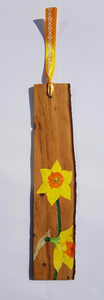 Bookmark : Hand-painted Daffodil