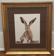 Load image into Gallery viewer, Print : Pen & Ink Hare print from original artwork