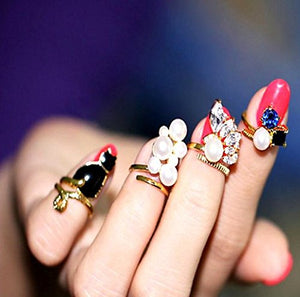 Nail Art Design Ring